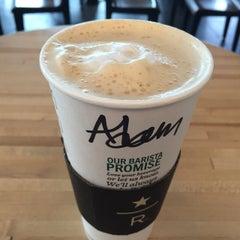 Photo taken at Starbucks by Adam on 6/14/2015