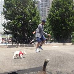 Photo taken at Sirius Dog Run by Caroline V. on 7/15/2013