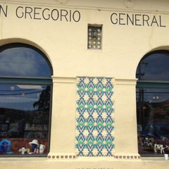 Photo taken at San Gregorio General Store by Jamie W. on 6/9/2013