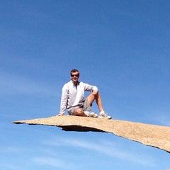 Photo taken at Potato Chip Rock by Michael V. on 2/24/2013