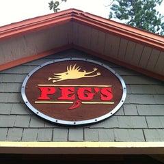 Photo taken at Peg's Cantina & Brew Pub by alexgmoney on 7/22/2012