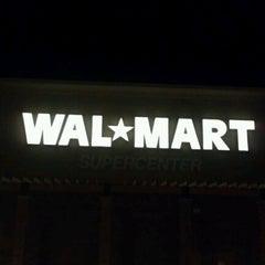 Photo taken at Walmart Supercenter by Gary P. on 6/29/2012
