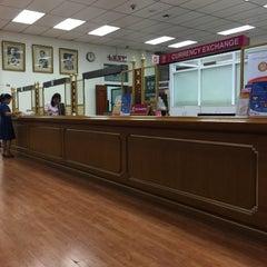 Photo taken at ธนาคารออมสิน สำนักงานใหญ่ (Government Savings Bank Head Office) by Chain U. on 6/18/2015