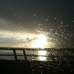Photo taken at Caloosahatchee Bridge by Jeff O. on 12/8/2012