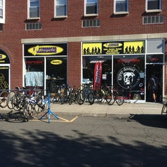 Photo taken at Piermont Bicycle Connection by Hector H. on 8/24/2014