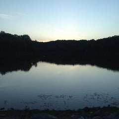 Photo taken at Lake Fairfax Park by Leona B. on 7/5/2013