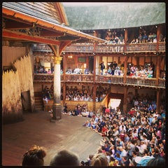 Photo taken at Shakespeare's Globe Theatre by Sarah O. on 6/30/2013