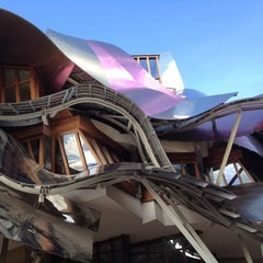 Photo taken at Hotel Marqués de Riscal by Geoffrey K. on 10/12/2012