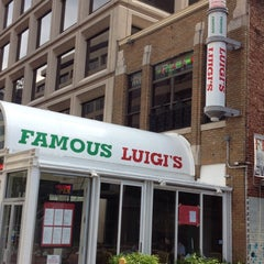 Photo taken at Famous Luigi's by Alex M. on 5/19/2013