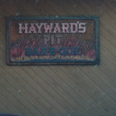 Photo taken at Hayward's Pit Bar-B-Que by Veronica P. on 11/1/2012