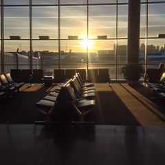 Photo taken at Boston Logan International Airport (BOS) by Egor A. on 11/4/2013