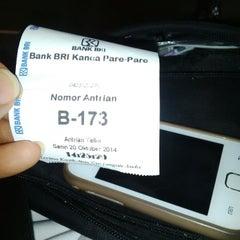 Photo taken at Bank BRI by nina m. on 10/20/2014