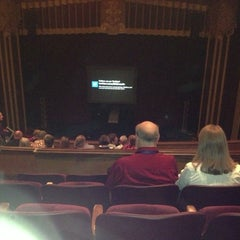 Photo taken at Steifel Theatre by Juliana N. on 11/19/2012