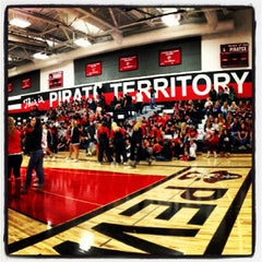 Photo taken at Pewaukee High School by Melinda on 10/5/2012