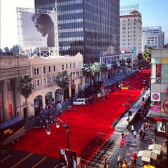Photo taken at Hollywood Boulevard by Lee A. on 11/25/2012