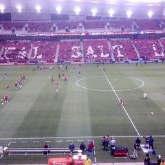 Photo taken at Rio Tinto Stadium by Major League Soccer on 11/9/2012