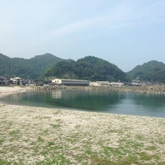 Photo taken at 諸寄海岸 by ft k. on 9/14/2013