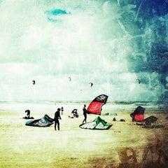 Photo taken at Frishman Beach (חוף פרישמן) by Boaz S. on 2/10/2013