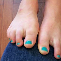 Photo taken at Town Nails II by Jane W. on 7/19/2013