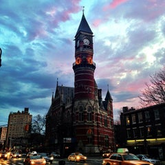 Photo taken at New York Public Library - Jefferson Market by Clay F. on 4/8/2013
