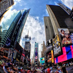 Photo taken at Times Square by Kxequiel on 7/4/2013
