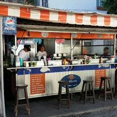 Photo taken at Marisma Fish Taco - Vallarta Centro by Ken B. on 3/5/2014