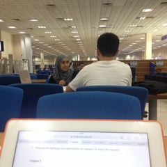 Photo taken at Siti Hasmah Digital Library by Balqis S. on 5/2/2014