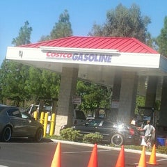 Photo taken at Costco Gas by Brian F. on 10/29/2012