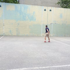 Photo taken at First Park by Karen D. on 6/6/2014