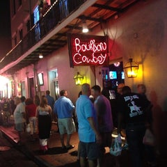 Photo taken at Bourbon Cowboy by Katy D. on 6/23/2013