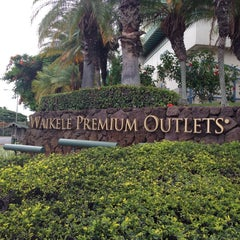 Photo taken at Waikele Premium Outlets by Eric Y. on 8/29/2013