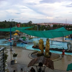 Photo taken at Water Park Top 100 by Sari A. on 7/8/2013