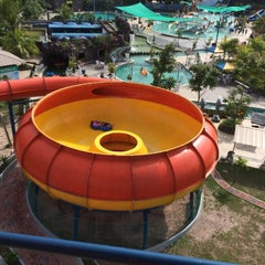 Photo taken at Water Park Top 100 by Sari A. on 8/30/2014