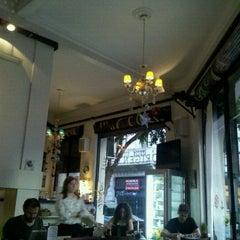 Photo taken at Origen Cafe by RomiL on 1/6/2013
