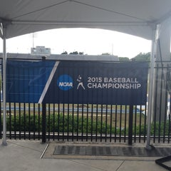 Photo taken at McKethan Stadium at Perry Field by Ralph on 5/30/2015