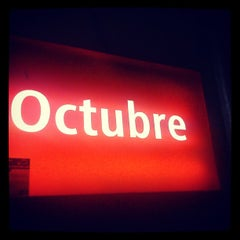 Photo taken at Cercanías 12 de Octubre by Ricardo R. on 9/30/2013