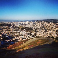 Photo taken at Twin Peaks Summit by Nicholas C. on 2/14/2013