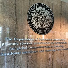 Photo taken at Lyndon Baines Johnson Department of Education Building by Michael S. on 6/6/2014