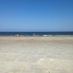 Photo taken at Atlantic ocean Tybee Island by Jessica C. on 6/16/2014
