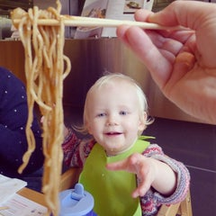Photo taken at Wagamama by Bertie S. on 12/27/2013