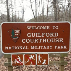 Photo taken at Guilford Courthouse National Military Park by Terry B. on 1/2/2013