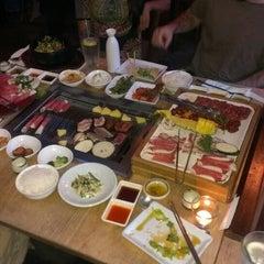 Photo taken at Wharo Korean BBQ by Qulius C. on 6/2/2013