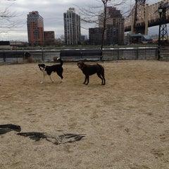Photo taken at 63rd St Dog Run by Rachel G. on 4/13/2013