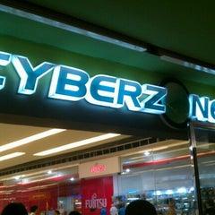 Photo taken at SM Cyberzone by Chikki M. on 1/24/2013