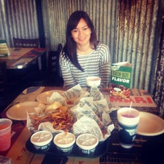 Photo taken at Wingstop by H N. on 10/22/2014