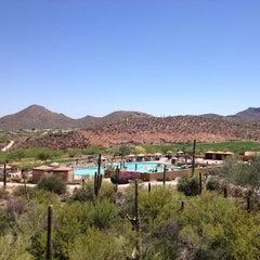 Photo taken at JW Marriott Tucson Starr Pass Resort & Spa by Jennifer A. on 5/20/2013