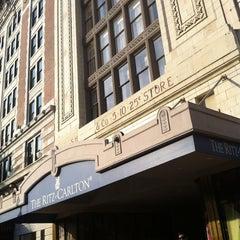 Photo taken at The Ritz-Carlton, New Orleans by Rolando G. on 9/25/2012
