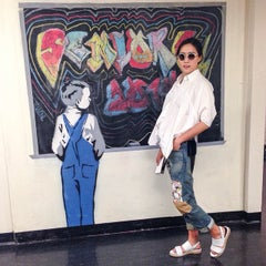 Photo taken at Groton School by Jisoo M. on 5/31/2014