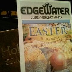 Photo taken at Edgewater Church by Jeff B. on 4/20/2014