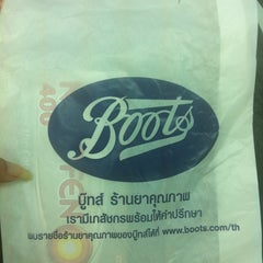 Photo taken at Boots (บู๊ทส์) by Enjoy W. on 8/10/2013